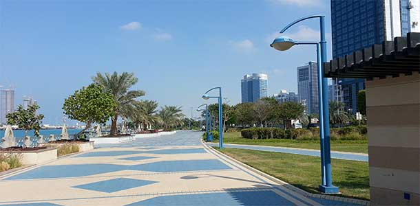 Corniche din Abu Dhabi