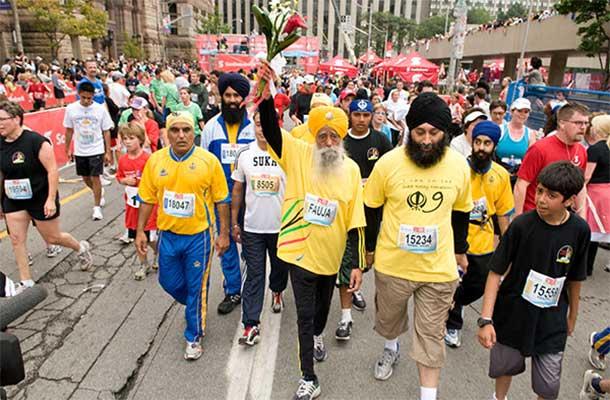 Fauja Singh la Toronto