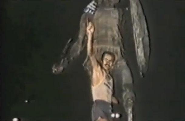Yiannis Kouros dupa ce a castigat Spartathlonul