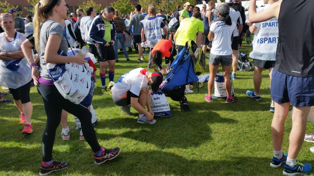 Start Maraton Copenhaga