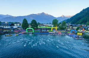 Start inot la Zell am See Kaprun Ironman 70.3