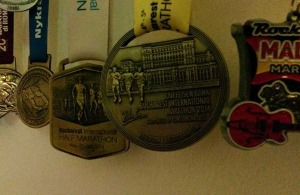 Medalie Maratonul Bucuresti 2014