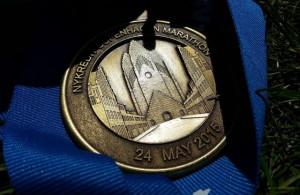 Medalie Maraton Copenhaga
